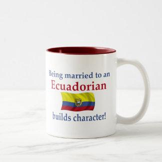 El Ecuadorian construye el carácter Taza