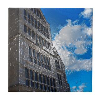El edificio azulejo
