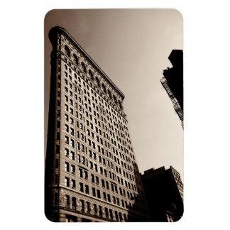 El edificio de Flatiron - New York City clásico Imanes