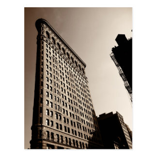 El edificio de Flatiron - New York City clásico Tarjeta Postal