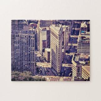 El edificio de Flatiron - New York City Puzzle