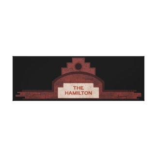 el edificio de Hamilton Impresión En Lienzo