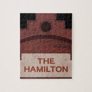 el edificio de Hamilton Puzzle