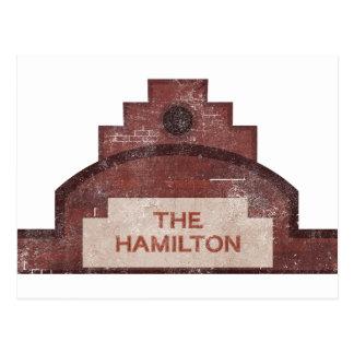 el edificio de Hamilton Tarjeta Postal