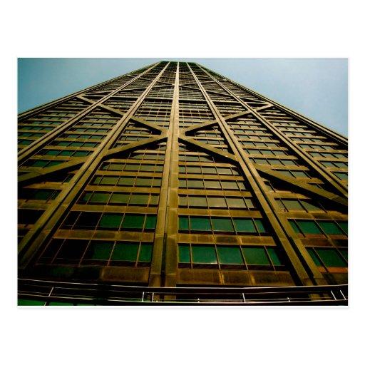 El edificio de Juan Hancock Tarjetas Postales