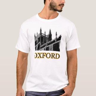 El edificio de Oxford Inglaterra tuerce en espiral Playera