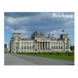 El edificio de Reichstag, Berlín Tarjeta Postal