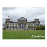 El edificio de Reichstag, Berlín Tarjetas Postales