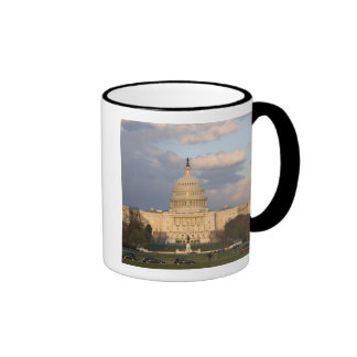 El edificio del capitolio de Estados Unidos Taza De Dos Colores