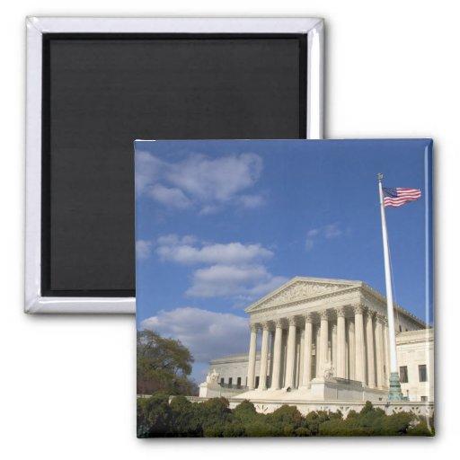El edificio del Tribunal Supremo de Estados Unidos Imán Cuadrado