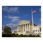 El edificio del Tribunal Supremo de Estados Unidos Impresiones