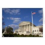El edificio del Tribunal Supremo de Estados Unidos Tarjeta De Felicitación