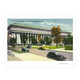 El edificio educativo, Capitol Hill # 2 Tarjetas Postales