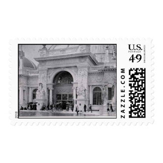 El edificio Justo-Hortícola 3 de los Timbre Postal