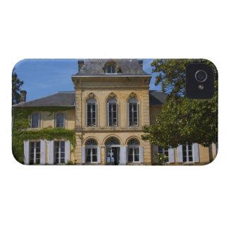 El edificio principal del castillo francés, carcasa para iPhone 4