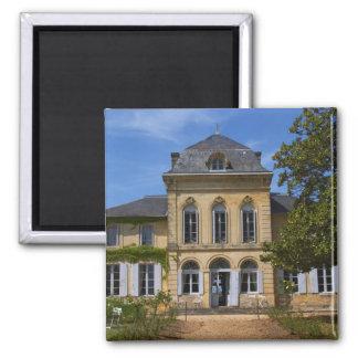 El edificio principal del castillo francés, renova imán cuadrado