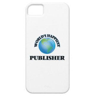 El editor más feliz del mundo iPhone 5 fundas