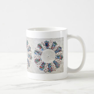 El edredón de Nellie de la abuela - bloque #1 Taza De Café