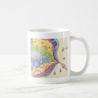 El edredón pintado taza clásica