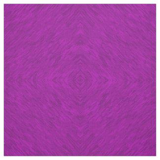 El edredón púrpura del modelo del diamante ajusta tela