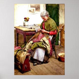 El edredón viejo - Gualterio Langley Poster