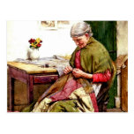 El edredón viejo - Gualterio Langley Tarjeta Postal