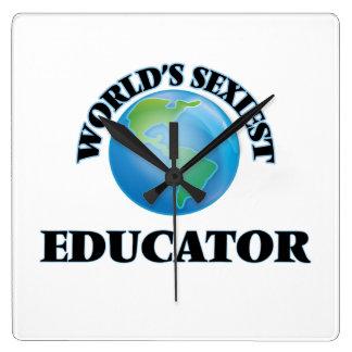 El educador más atractivo del mundo reloj