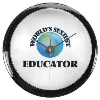 El educador más atractivo del mundo reloj pecera
