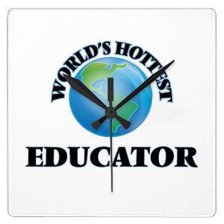 El educador más caliente del mundo reloj
