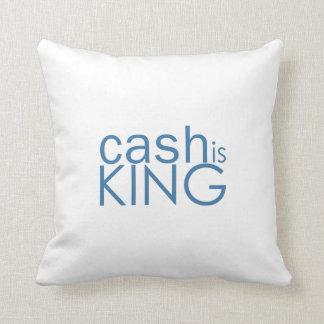 El efectivo es almohada del rey tiro
