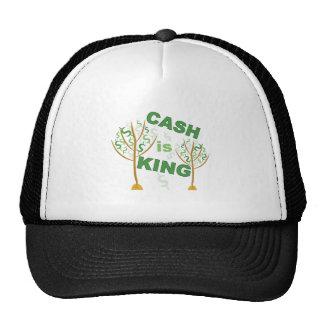 El efectivo es rey gorra
