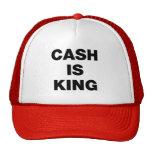El efectivo es rey gorros bordados