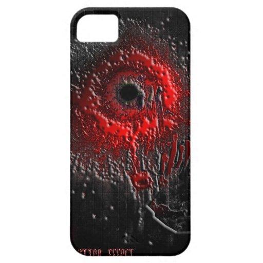 El efecto de la salpicadura iPhone 5 cobertura