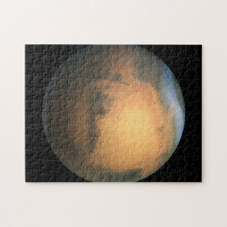 El efecto de Marte -3D del planeta Rompecabeza