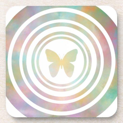El efecto mariposa posavasos