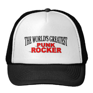 El eje de balancín punky más grande del mundo gorras de camionero