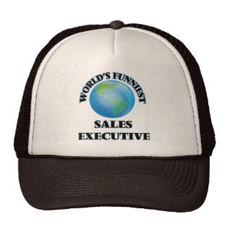El ejecutivo de las ventas más divertido del mundo gorras