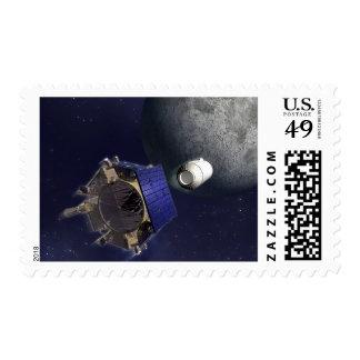 El ejemplo del artista sellos postales