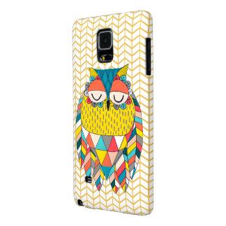 El ejemplo moderno tribal azteca Samsung del búho