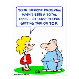 el ejercicio enrarece el top postal
