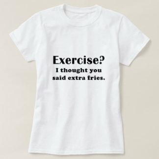 El ejercicio I pensó que usted dijo las fritadas Playeras