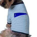 El Ejército alemán Bootswimpel Flottillendmiral Camisa De Perro