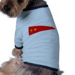 El Ejército alemán Bootswimpel Generalmajor Camisetas De Perrito