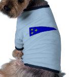 El Ejército alemán Bootswimpel Vizeadmiral Camisetas De Perrito