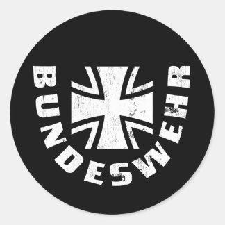 El Ejército alemán Deutschland, Luftwaffe, fuerza Pegatina Redonda