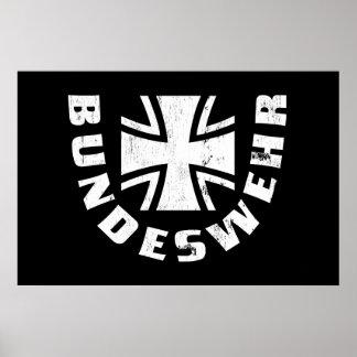 El Ejército alemán Deutschland, Luftwaffe, fuerza  Póster