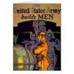 El ejército construye a HOMBRES Tarjeton