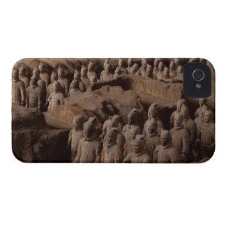 El ejército de guerreros de la terracota en el emp iPhone 4 Case-Mate cárcasas