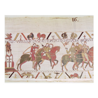 El ejército de Guillermo que va al Saint-Michel de Tarjetas Postales