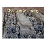 El ejército de la terracota del primer emperador d tarjetas postales